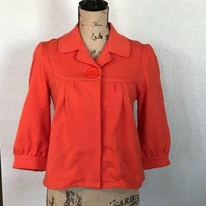 Anthropologie 3/4 Sleeve Coat 🧥 Jacket